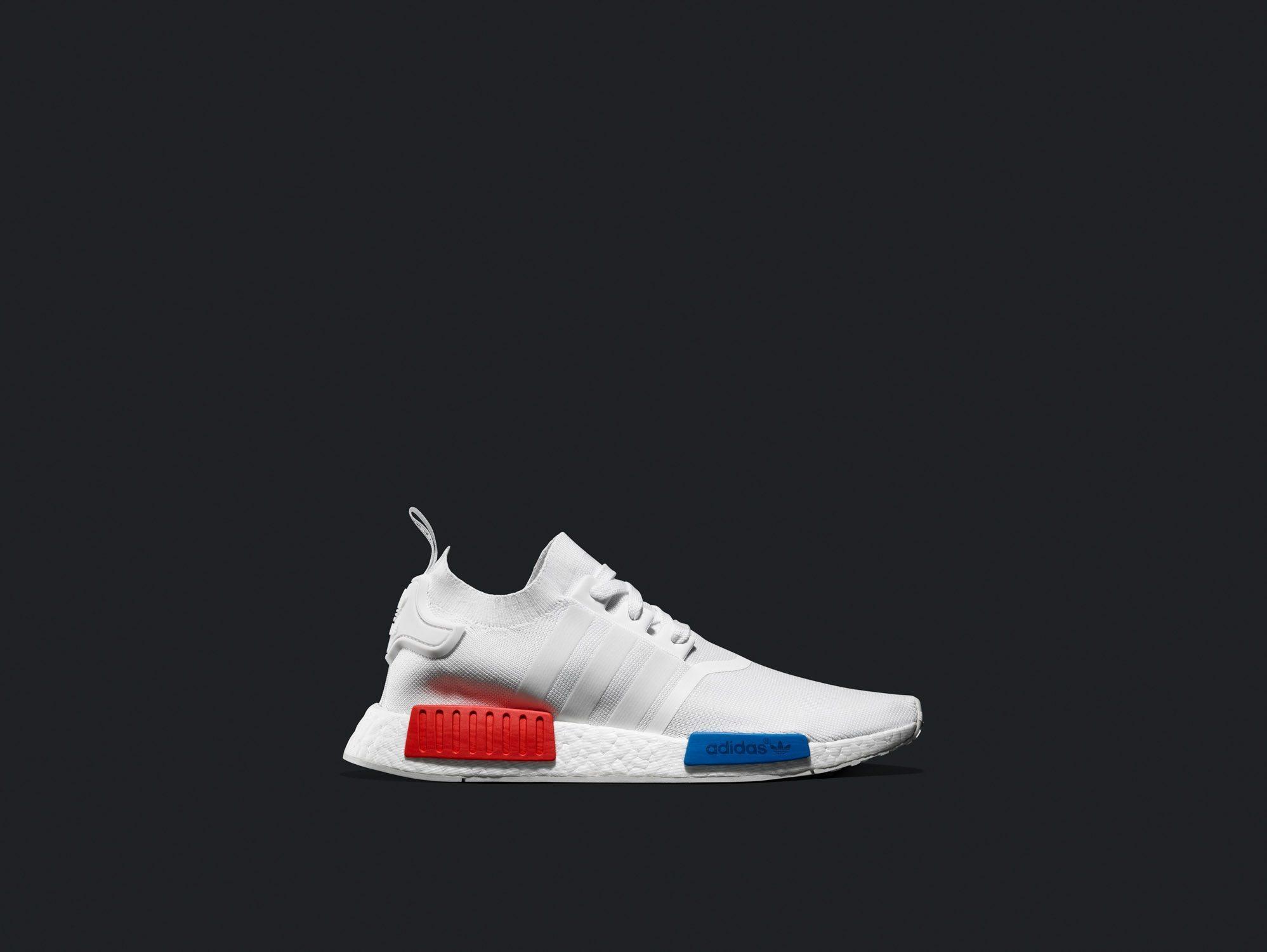 adidas NMD Primeknit White OG 3