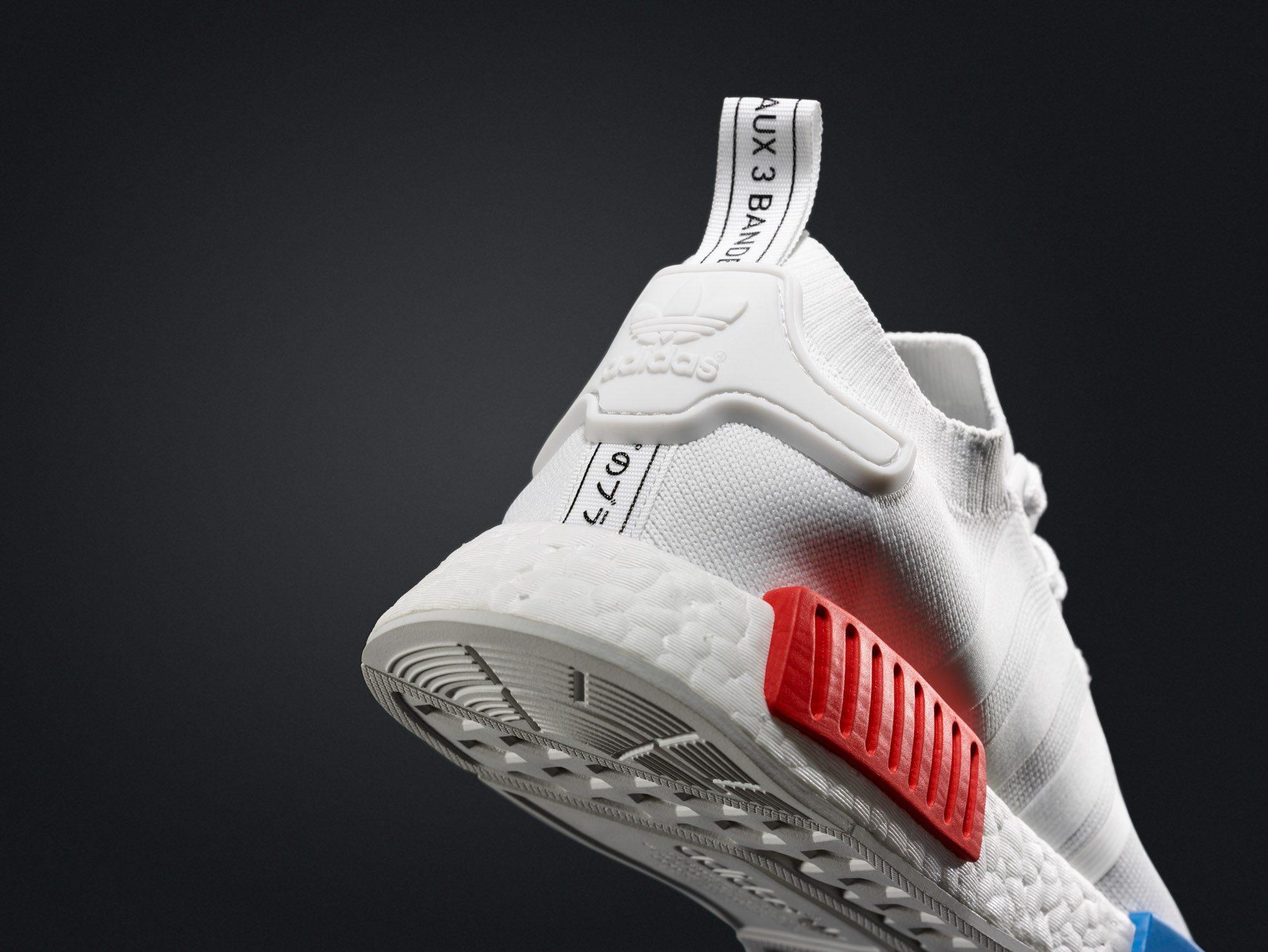 adidas NMD Primeknit White OG 5