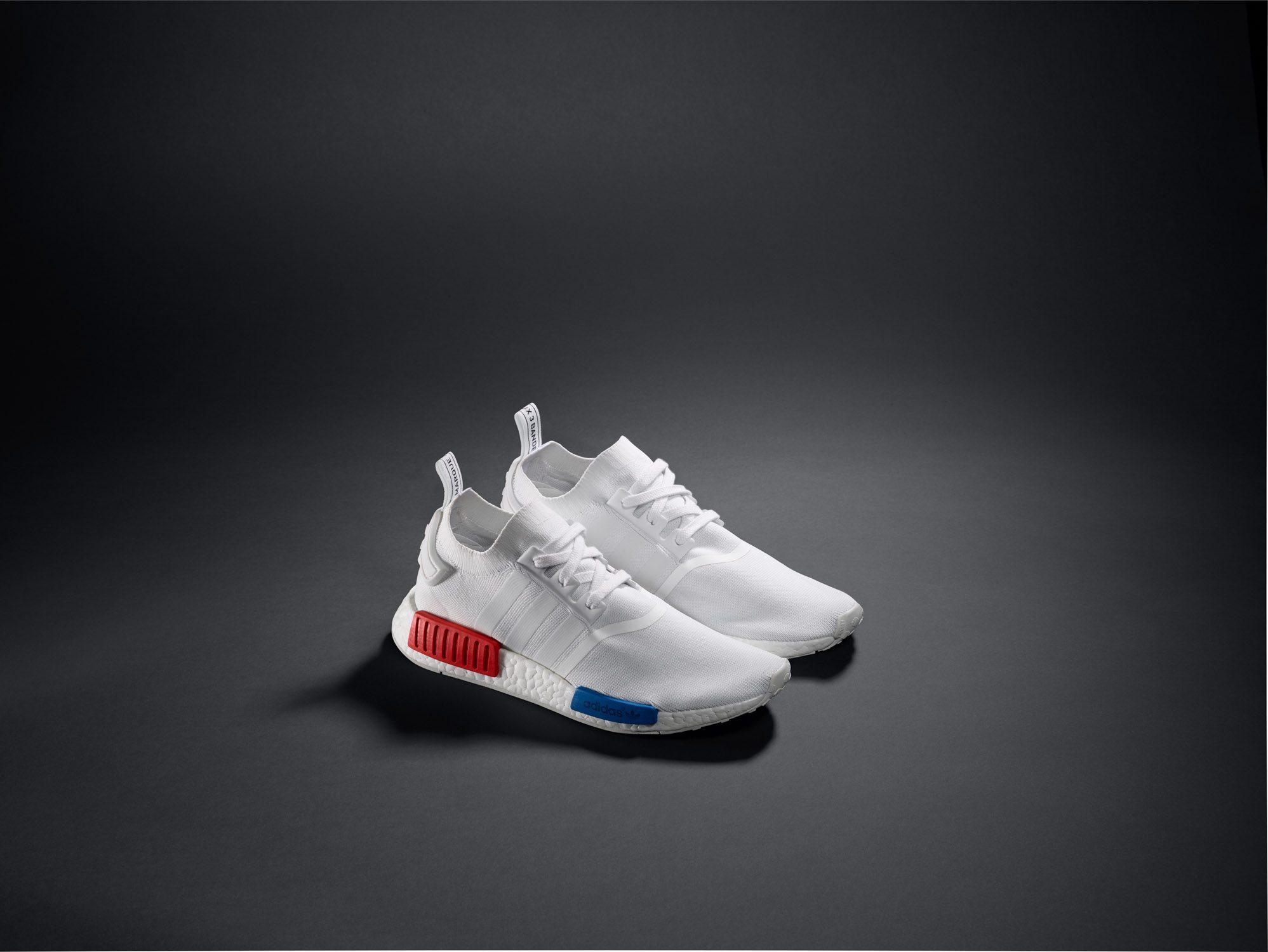 adidas NMD Primeknit White OG 8