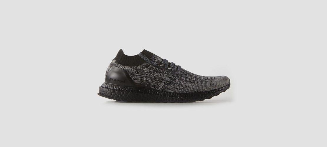 adidas Ultra Boost Uncaged Black Grey 1110x500
