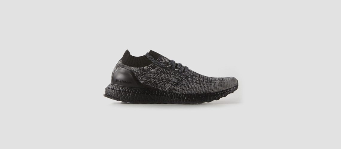 adidas Ultra Boost Uncaged Black Grey