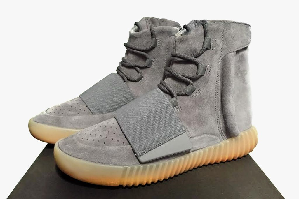 adidas Yeezy Boost 750 Grey 1