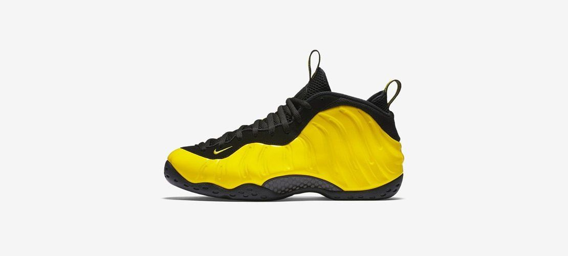 Nike Air Foamposite One Yellow 1110x500