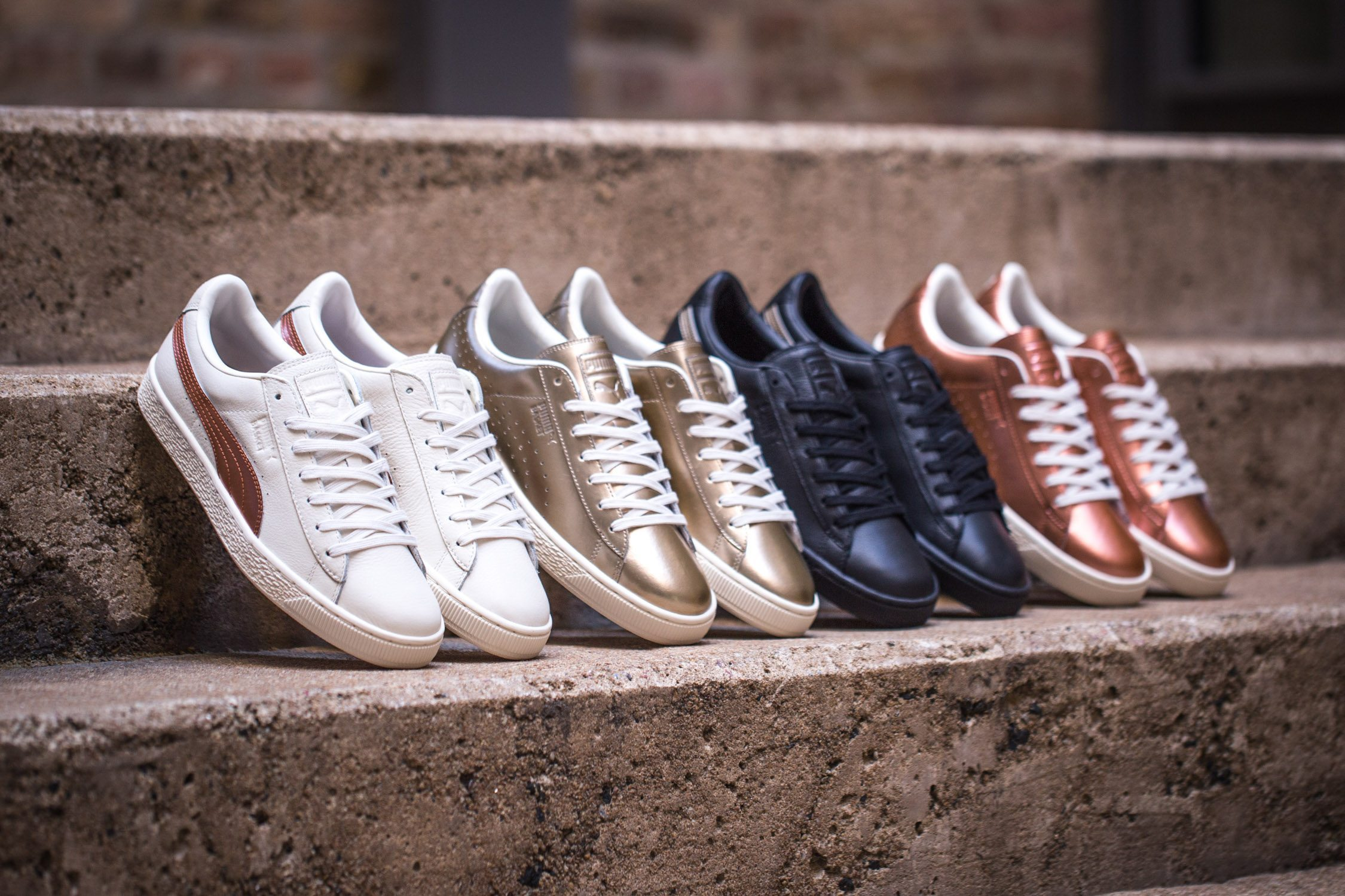 SNIPES x PUMA Basket Metallic Pack 1
