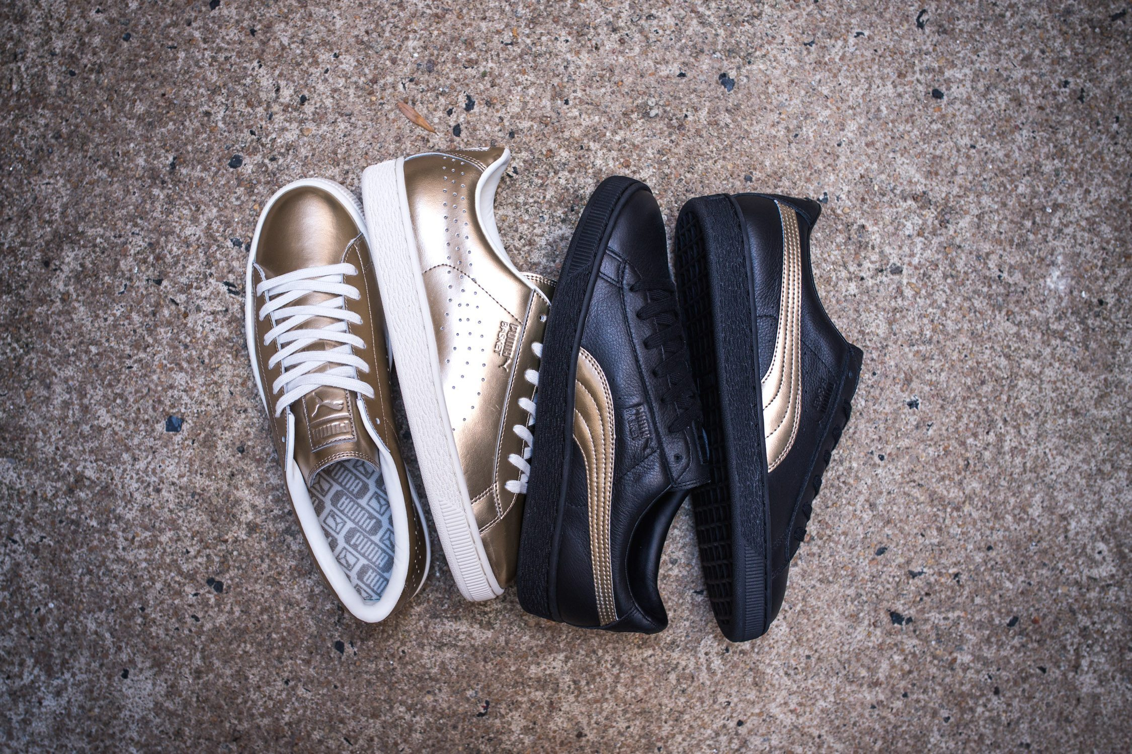 SNIPES x PUMA Basket Metallic Pack 7