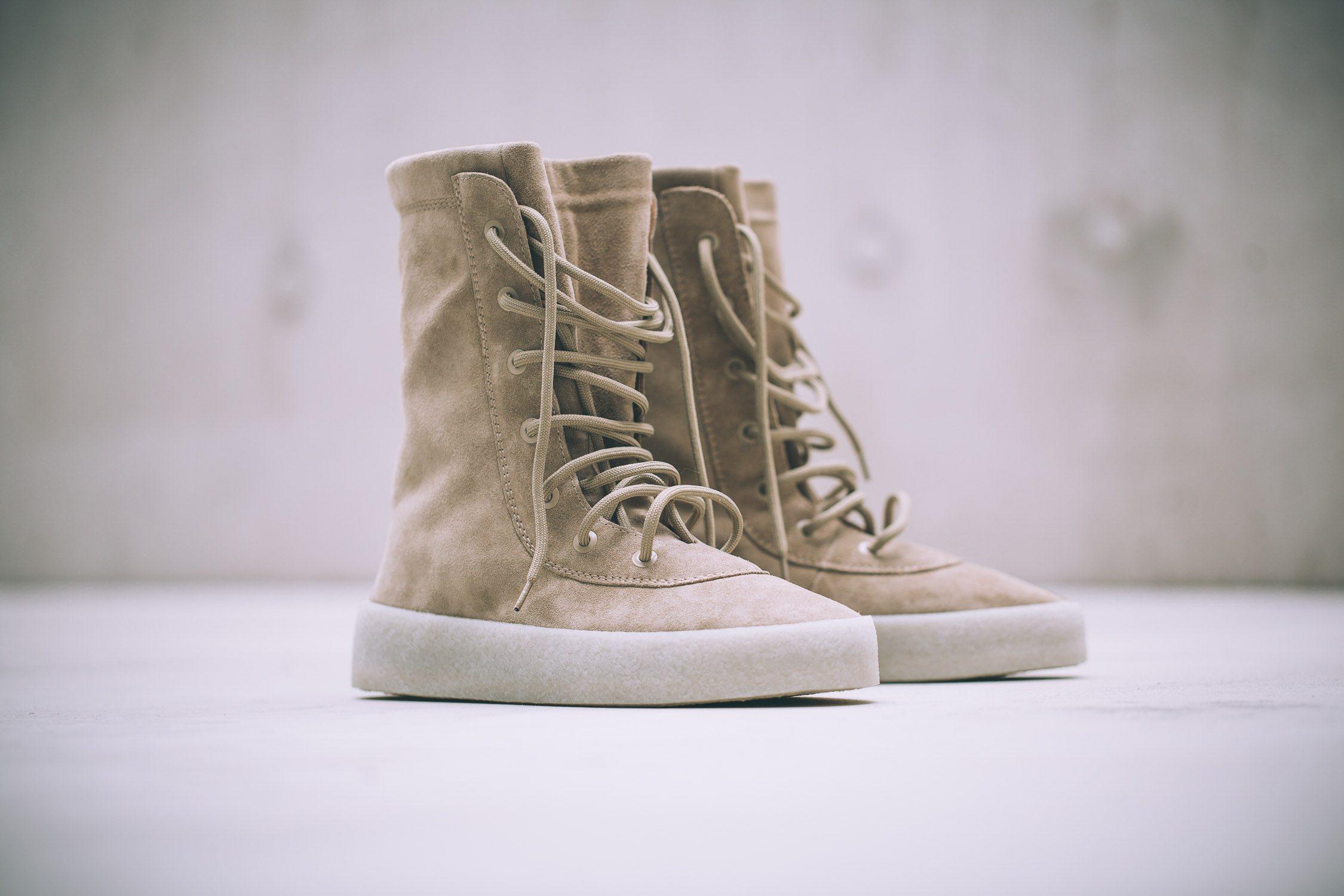 adidas Originals x Kanye West Crepe Boot 1