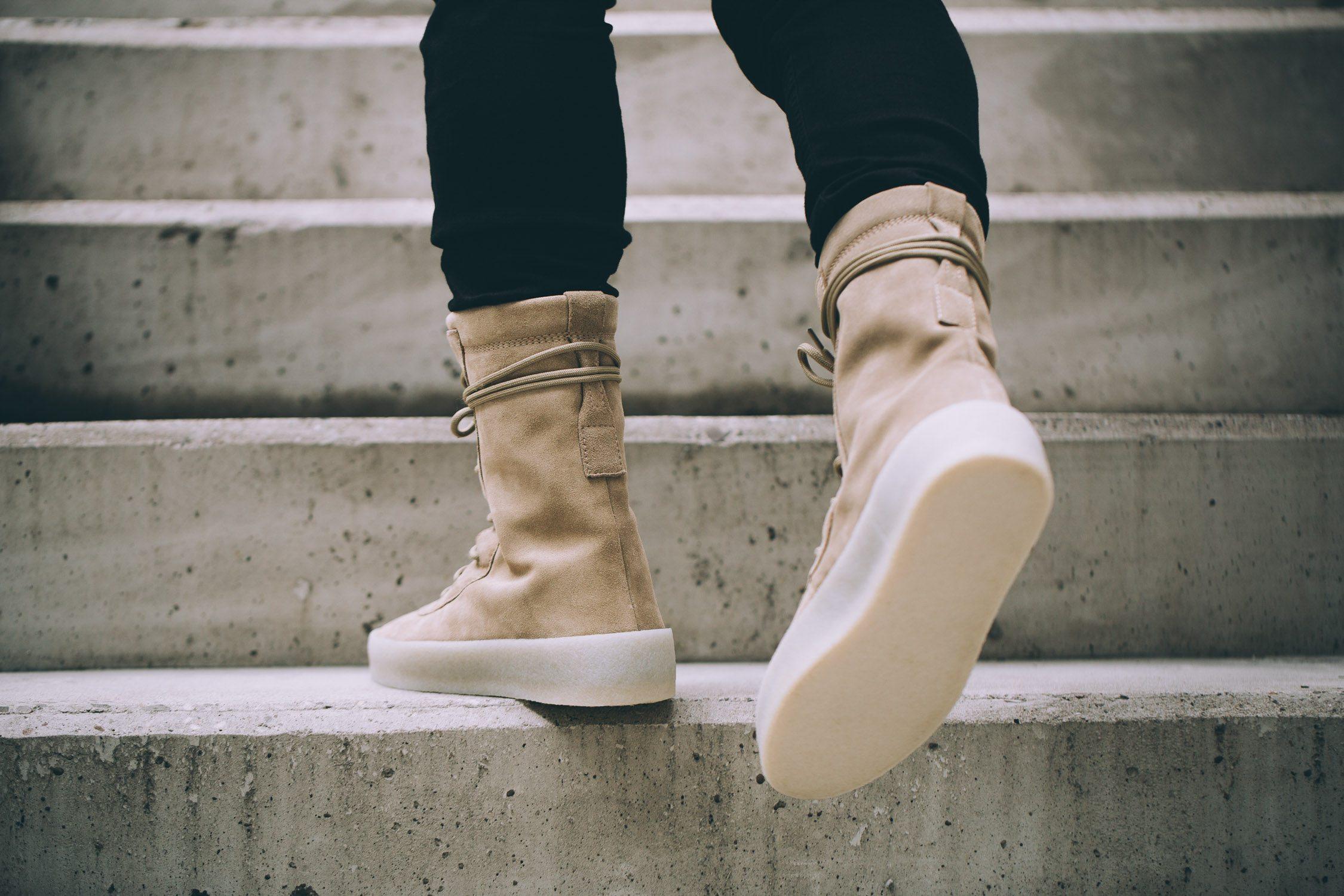 adidas Originals x Kanye West Crepe Boot 10