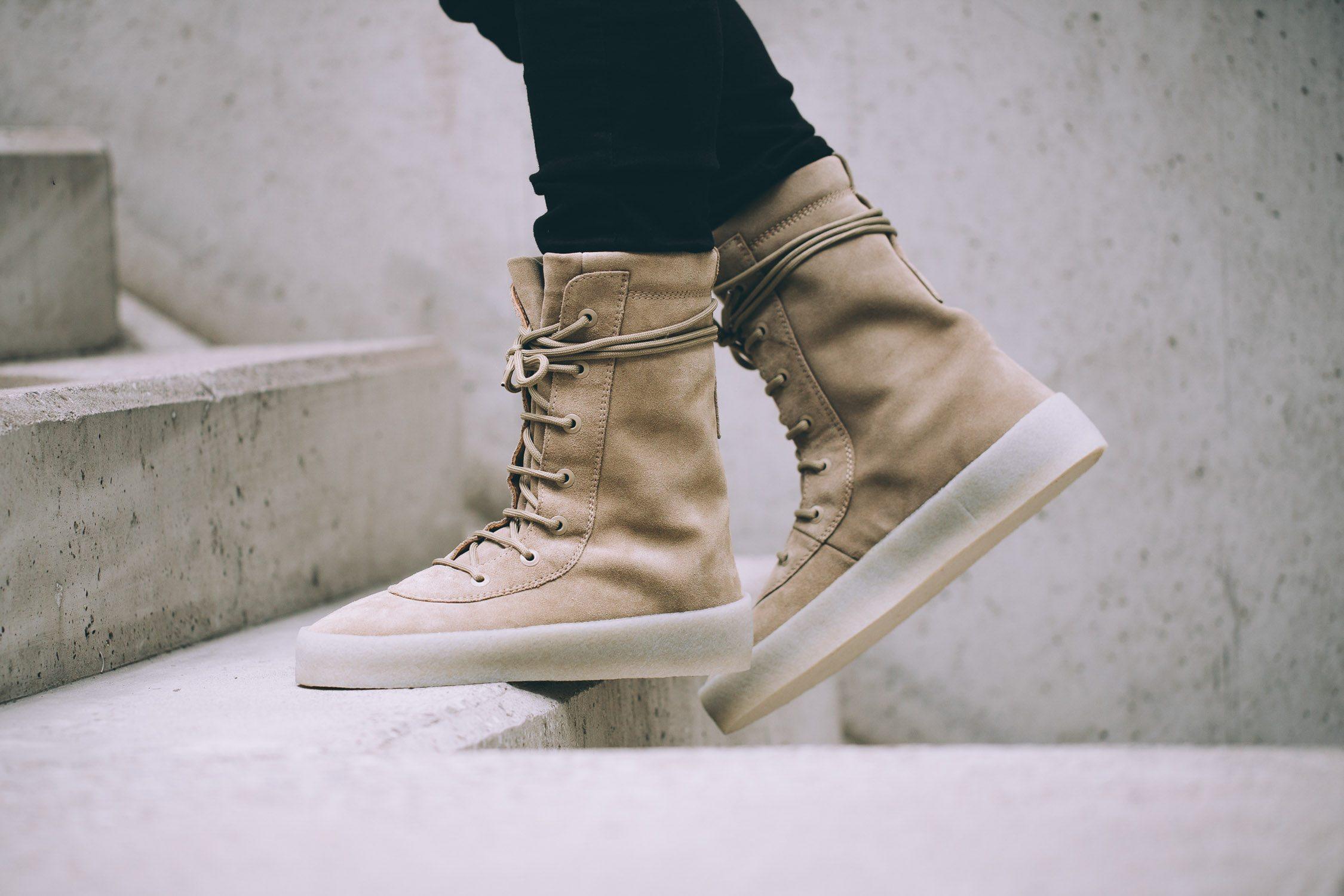 adidas Originals x Kanye West Crepe Boot 9