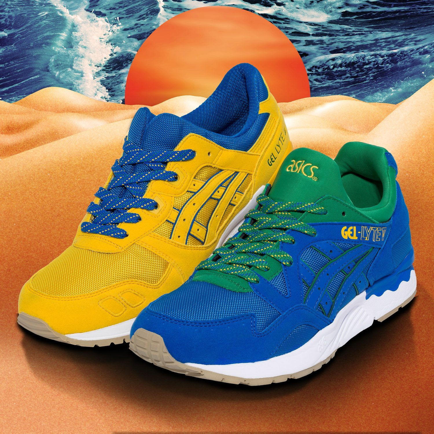ASICS Tiger Gel Lyte Brazil Pack 1