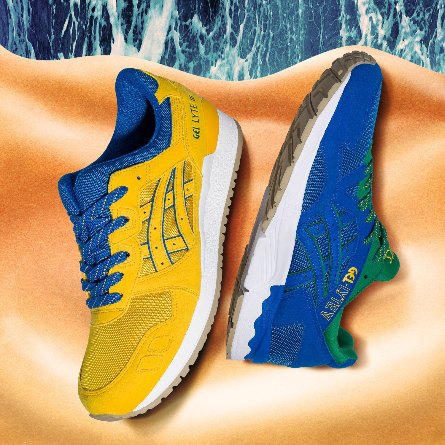 ASICS Tiger Gel Lyte Brazil Pack 2