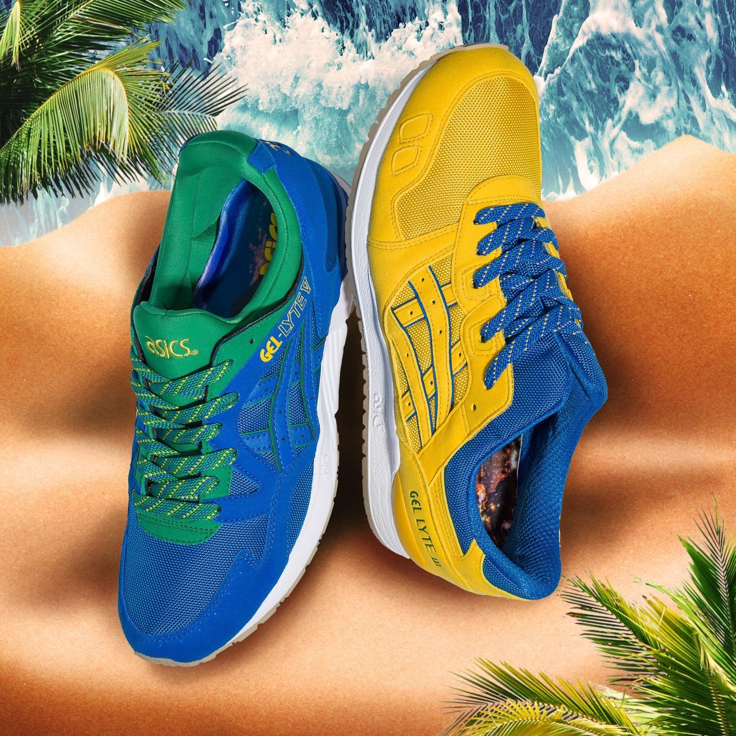 ASICS Tiger Gel Lyte Brazil Pack 3