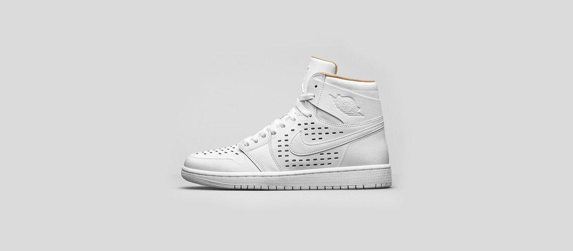 Air Jordan 1 High White Vachetta