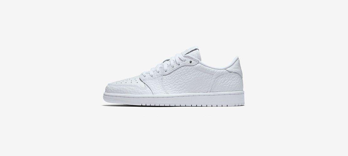 Air Jordan 1 Low NS All White 1110x500