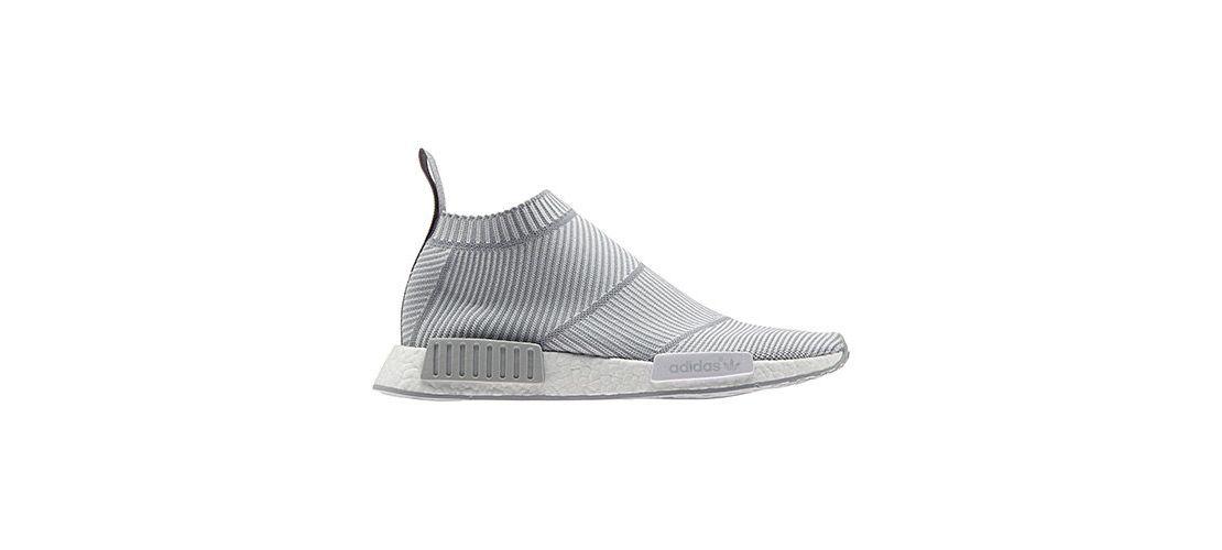 adidas NMD City Sock Primeknit White Grey 1110x500