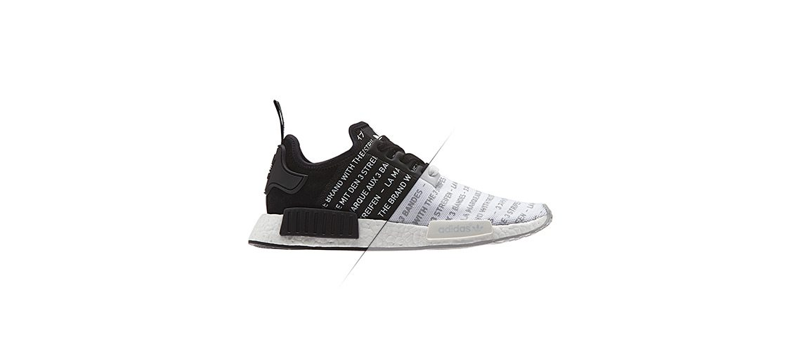 adidas NMD Primeknit Whiteout Blackout Pack