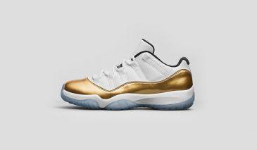 Air Jordan 11 Low – Metallic Gold