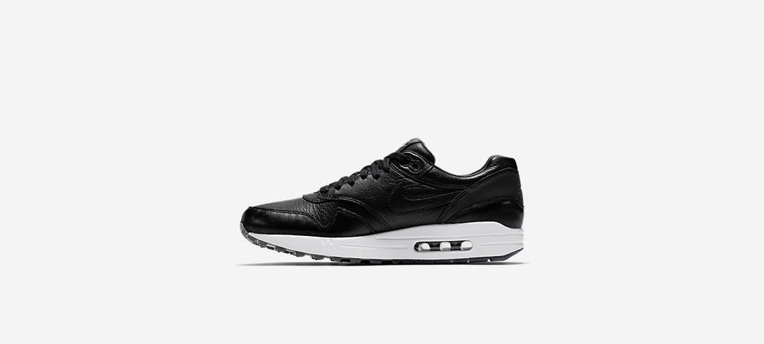 Nike Air Max 1 Deluxe Black White 1110x500