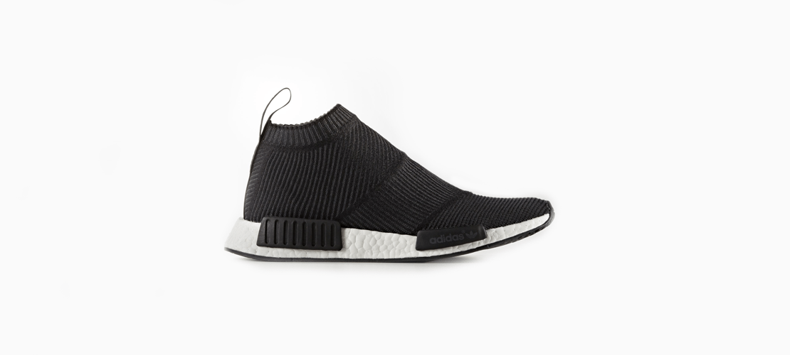adidas NMD City Sock Core Black 1110x500