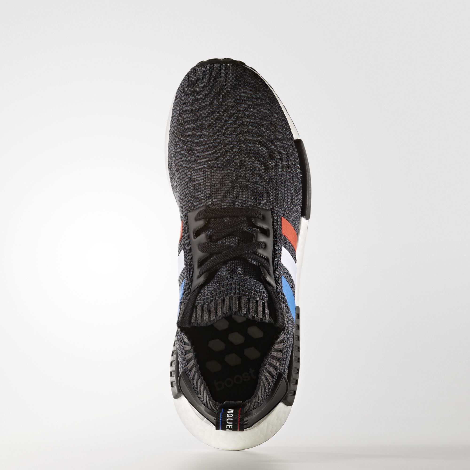 adidas NMD R1 Primeknit Tri Color Black BB2887 1