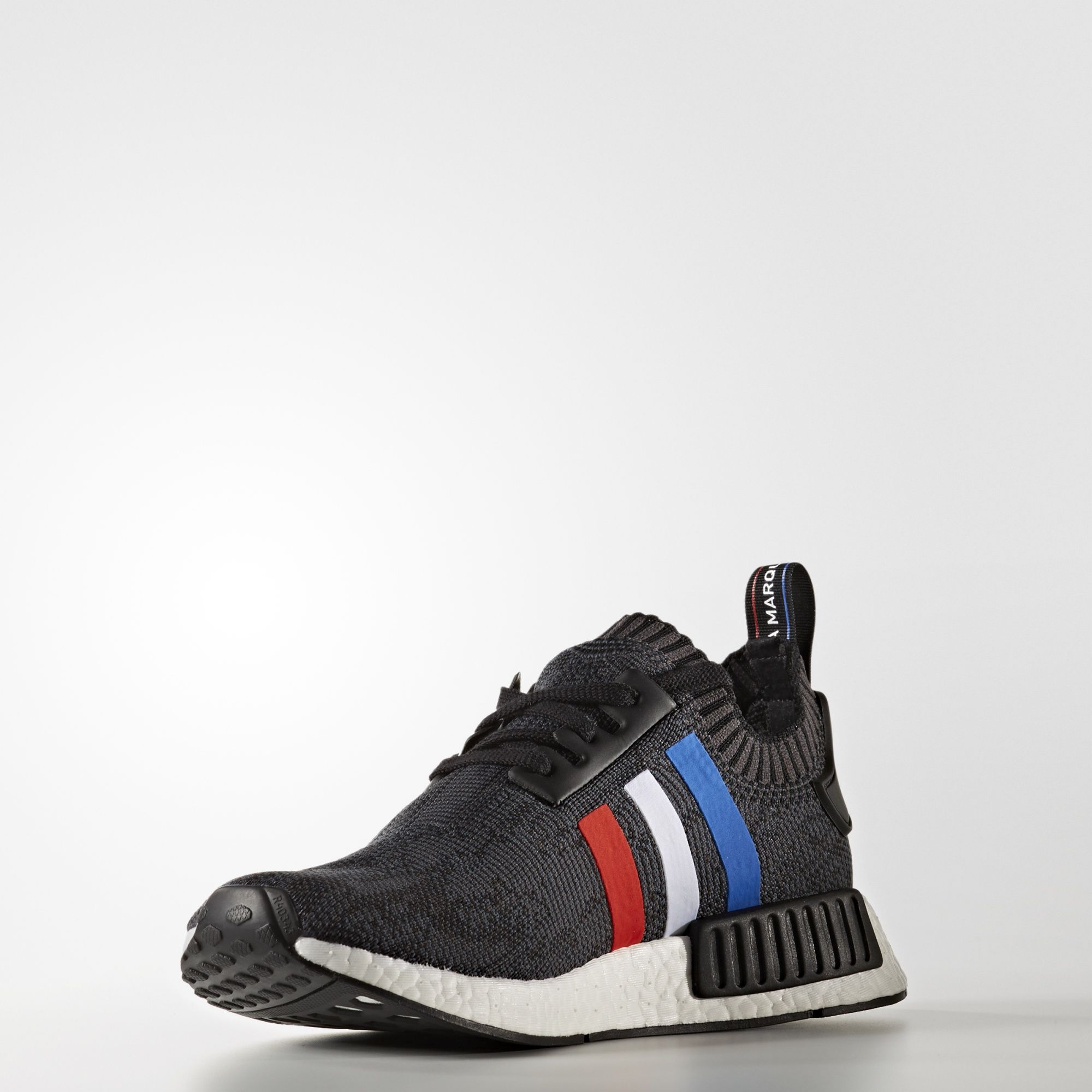adidas NMD R1 Primeknit Tri Color Black BB2887 2