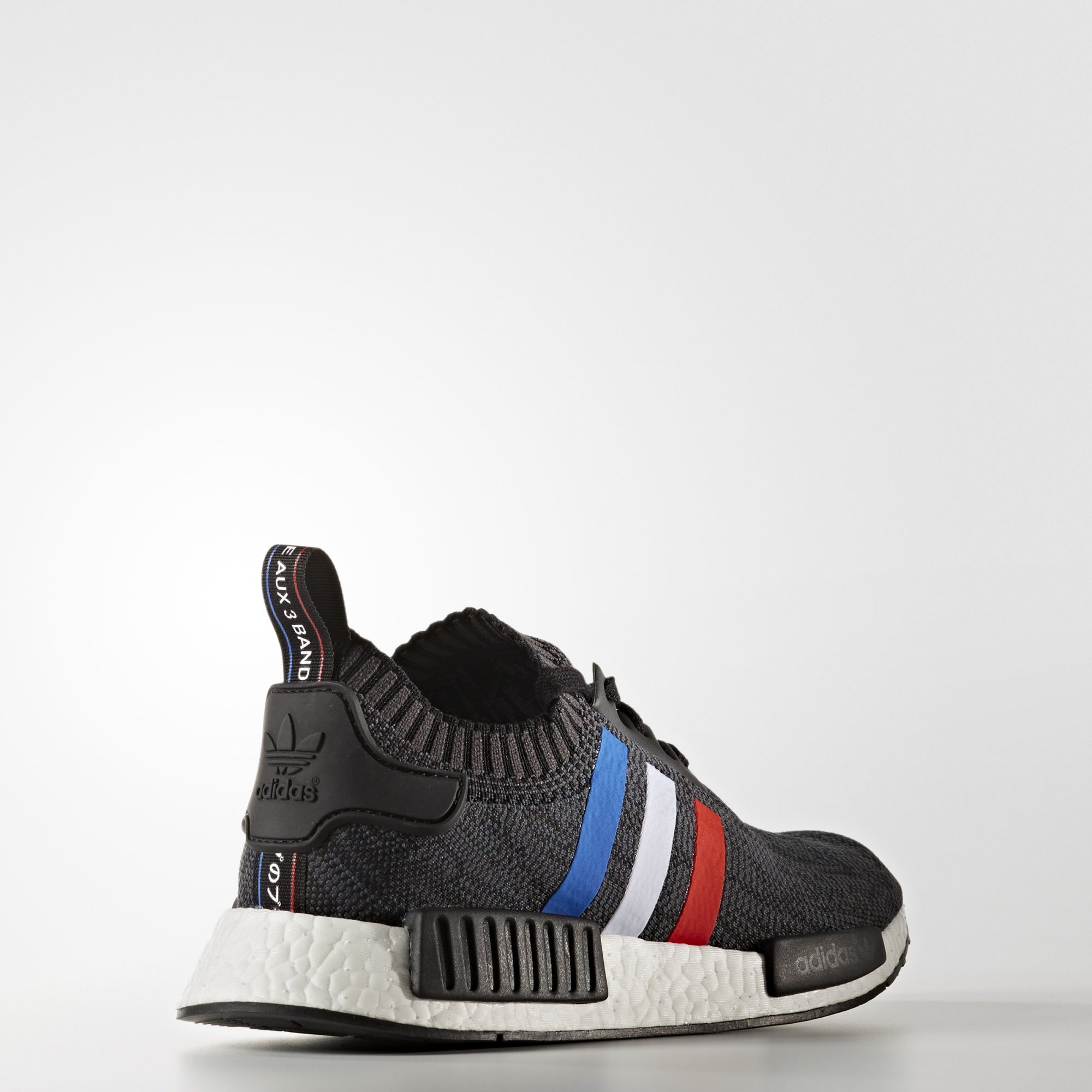adidas NMD R1 Primeknit Tri Color Black BB2887 3