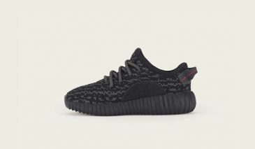 adidas Yeezy Boost 350 Infant – Black Pirate