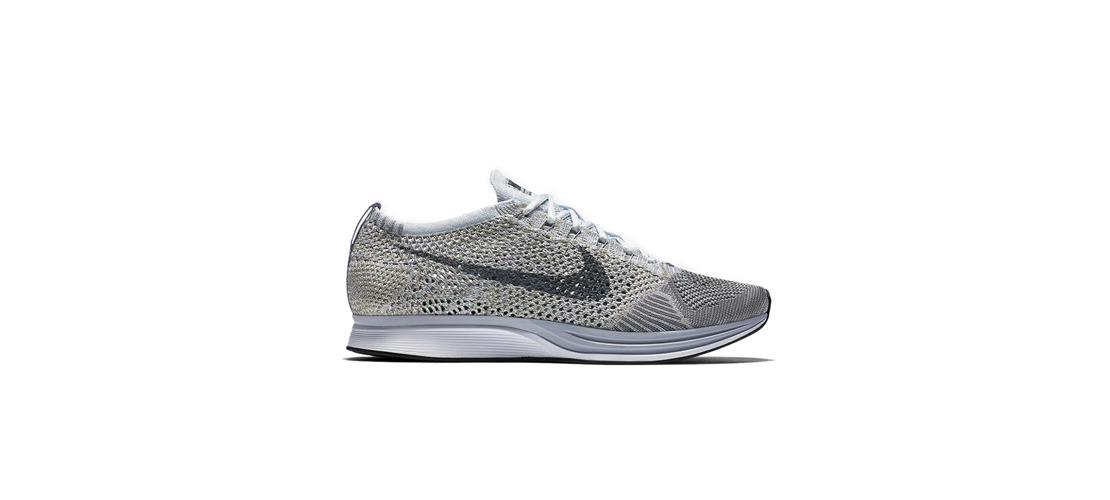 Nike Flyknit Racer Pure Platinum 1110x500