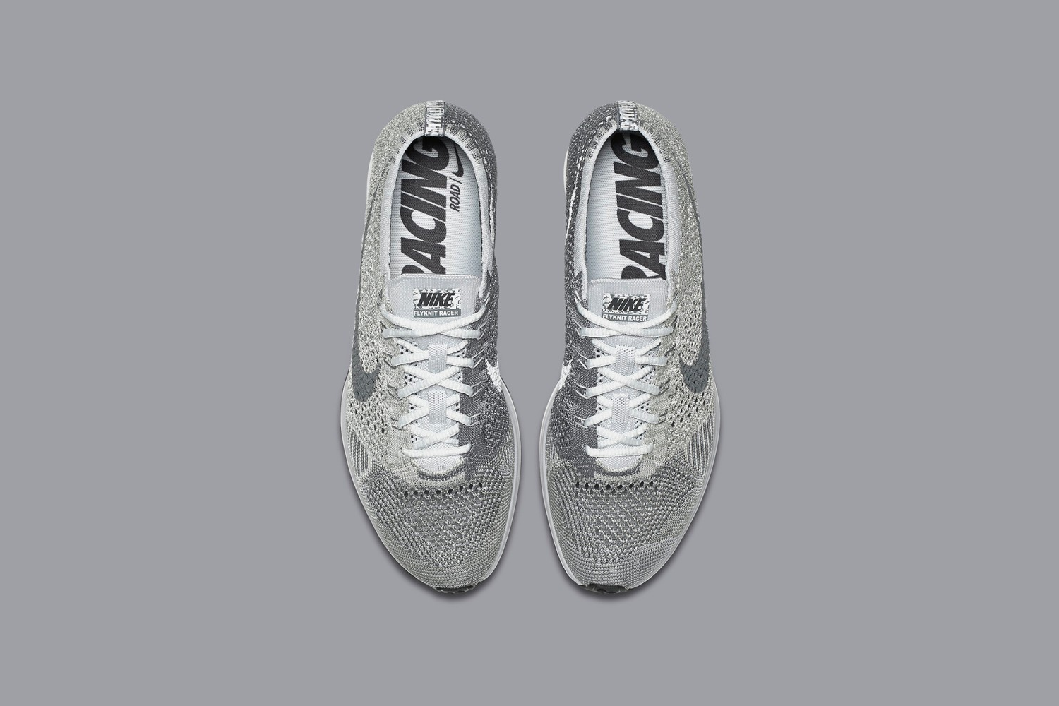 Nike Flyknit Racer Pure Platinum 4