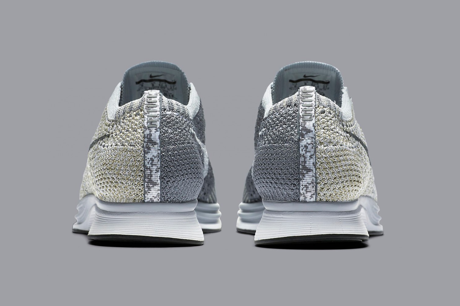Nike Flyknit Racer Pure Platinum 5