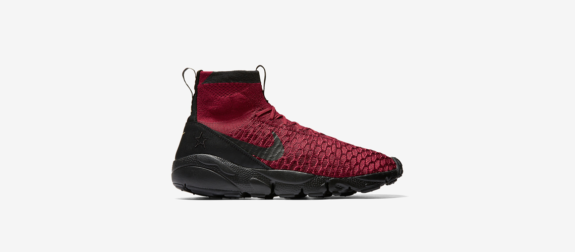 Nike Footscape Magista Flyknit Burgundy