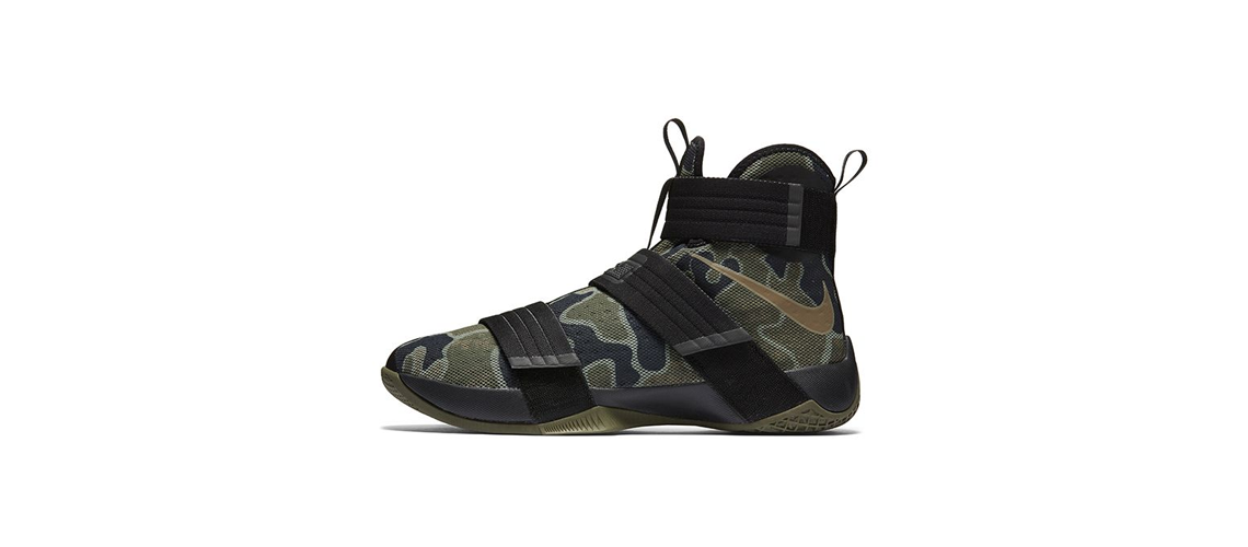 Nike Zoom Lebron Soldier 10 Camo