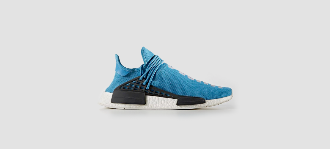 adidas x Pharrell Williams HU NMD Blue 1110x500