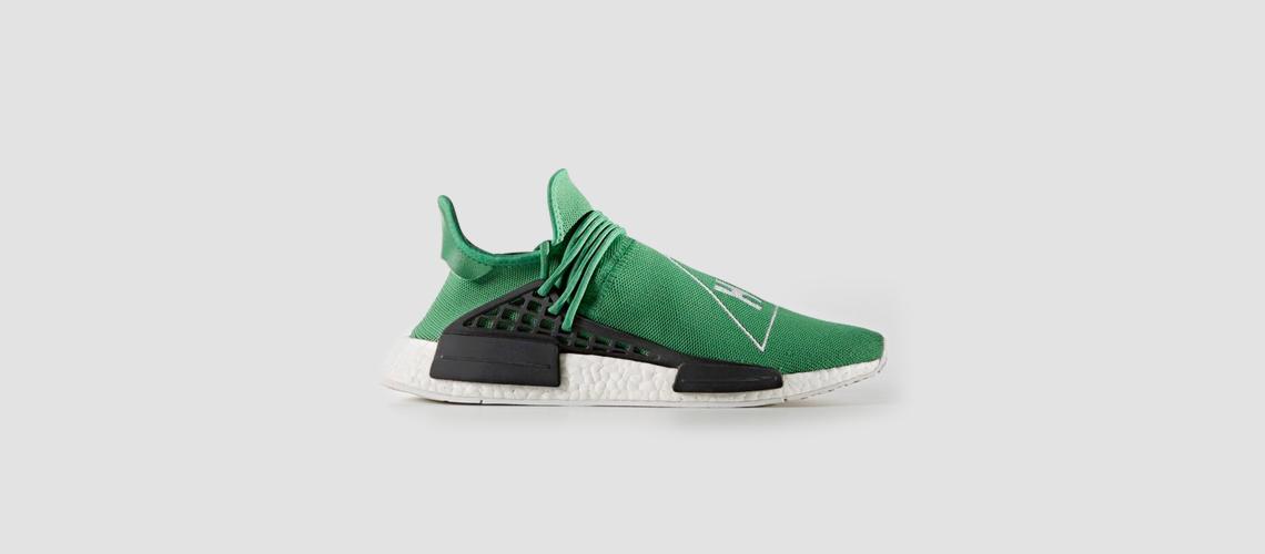 adidas x Pharrell Williams HU NMD Green
