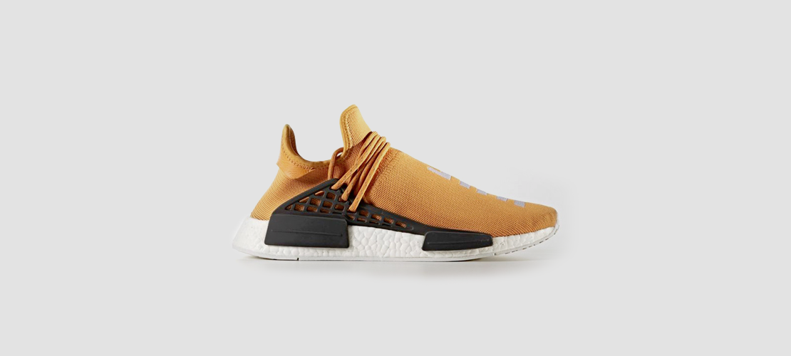 adidas x Pharrell Williams HU NMD Yellow 1110x500