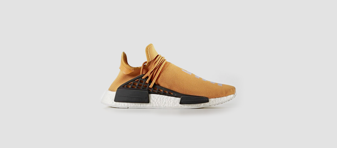 adidas x Pharrell Williams HU NMD Yellow