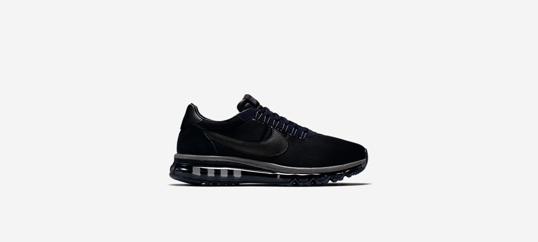 fragment x NikeLab Air Max Zero LD Triple Black 1110x500