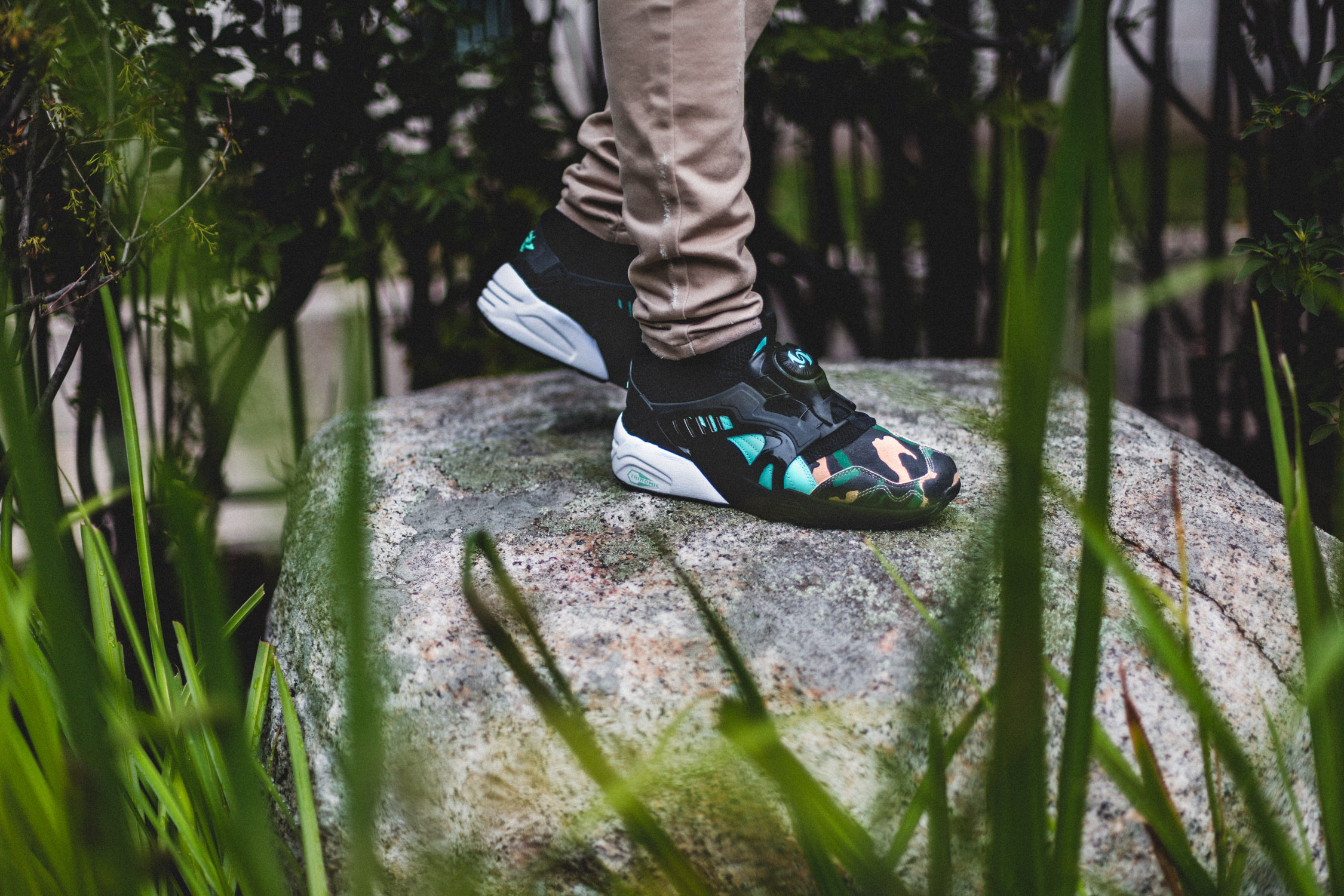 ATMOS x PUMA Disc Blaze Night Jungle 1