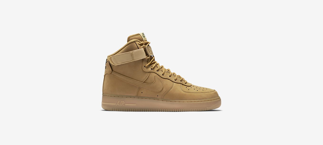 Nike Air Force 1 High 07 LV8 WB Flax Wheat 1110x500