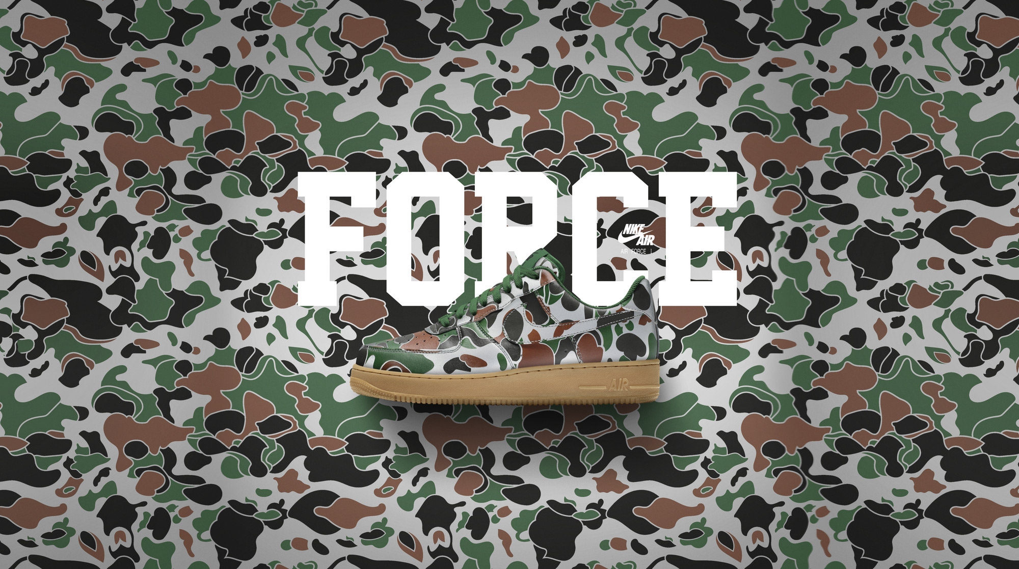 Nike Air Force 1 iD Camo 2