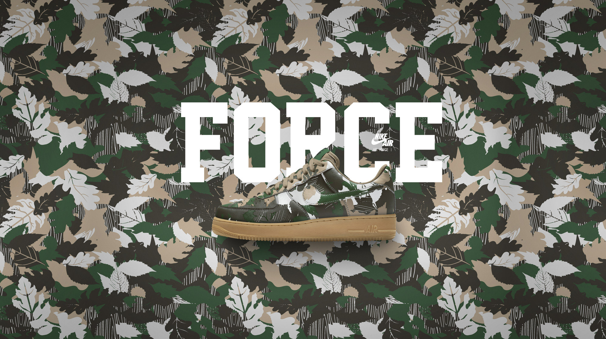 Nike Air Force 1 iD Camo 3