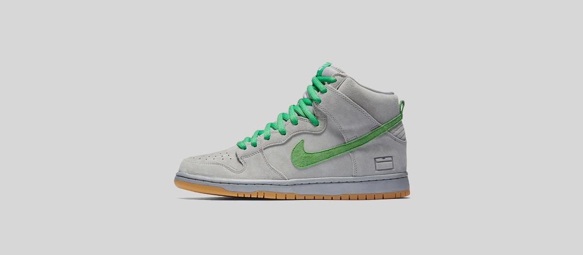 Nike SB Dunk High Grey Box
