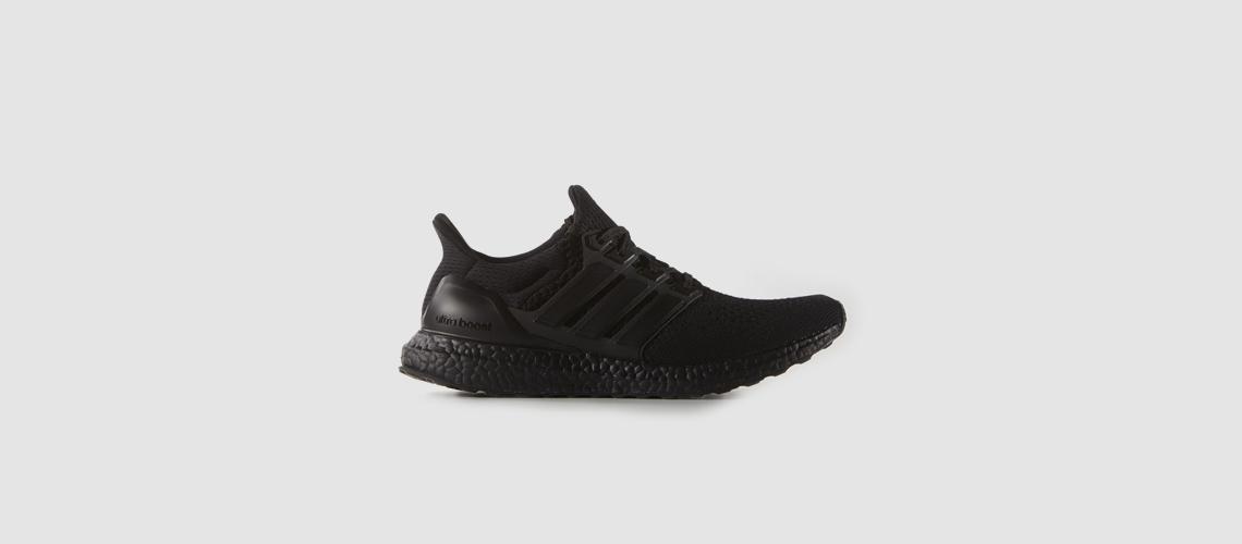 adidas Ultra Boost All Black 1