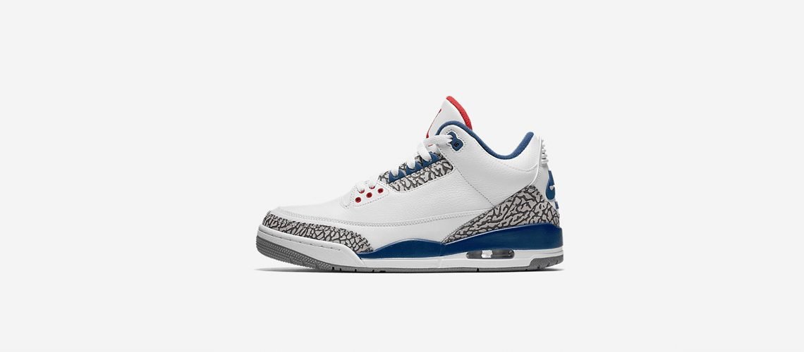 Air Jordan 3 Retro OG Blue Cement