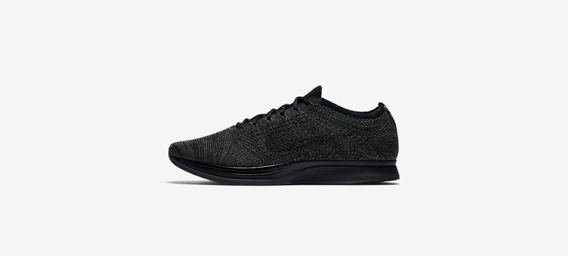 Nike Flyknit Racer Triple Black 526628 009 1110x500