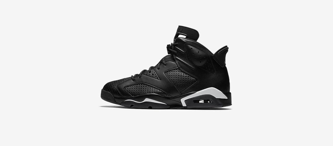 Air Jordan 6 Retro Black 384664 020