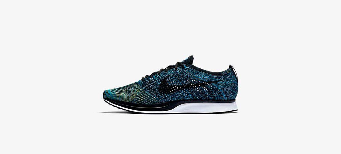 Nike Flyknit Racer Blue Glow 1110x500