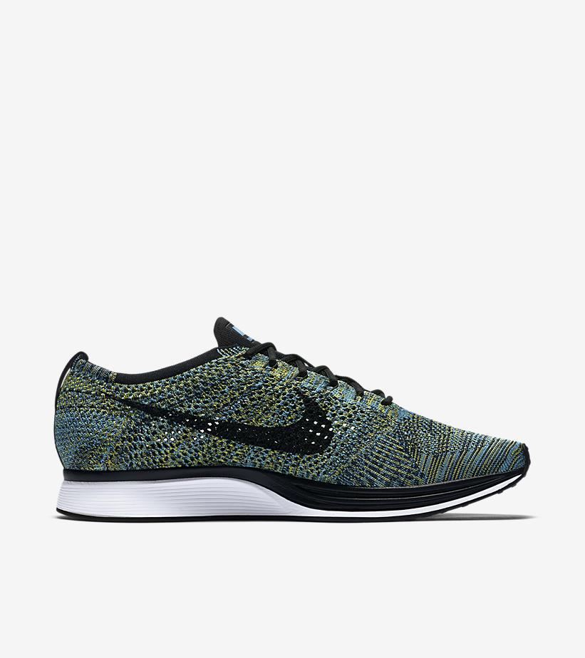 Nike Flyknit Racer Blue Glow 526628 405 3