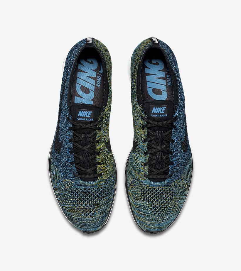 Nike Flyknit Racer Blue Glow 526628 405 4