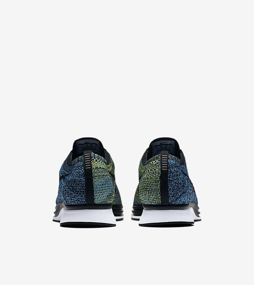 Nike Flyknit Racer Blue Glow 526628 405 5