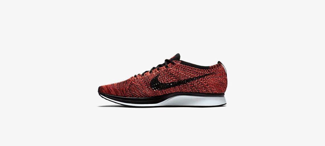 Nike Flyknit Racer University Red 1110x500